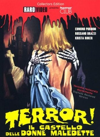 Terror, il castello delle donne maledette locandina
