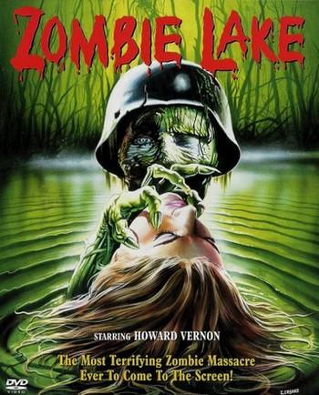 Zombie lake locandina