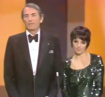 1974 presentatori Peck e Minnelli