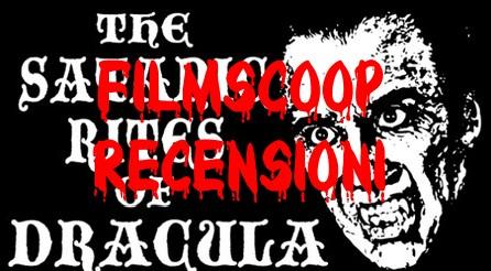 I satanici riti di Dracula banner filmscoop