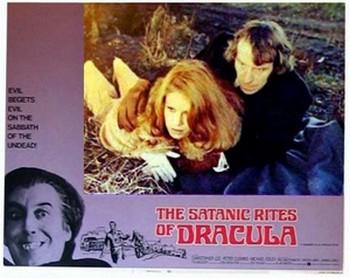 I satanici riti di Dracula lobby card 1
