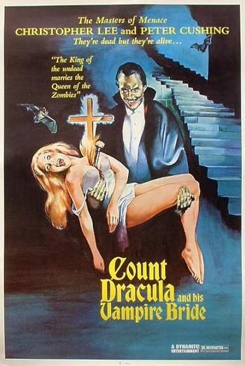 I satanici riti di Dracula locandina americana