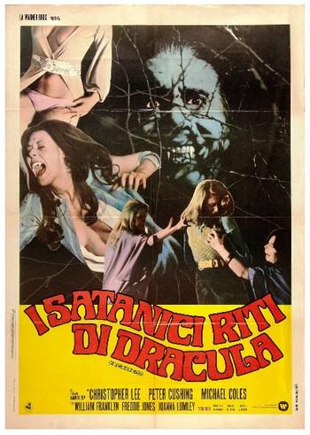 I satanici riti di Dracula locandina italiana 3