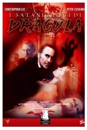 I satanici riti di Dracula locandina italiana