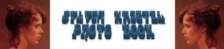 Sylvia Kristel banner photobook