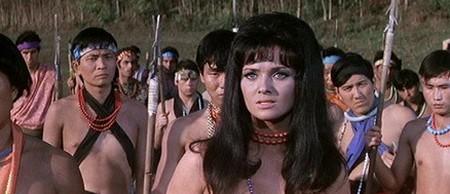 Femi Benussi Samoa regina della giungla