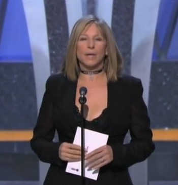 01 Barbara Streisand presentatrice