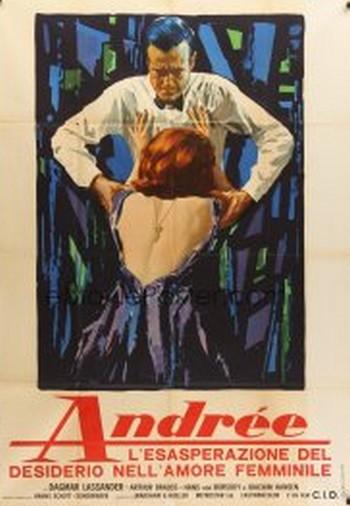 Andrée - l'esasperazione del desiderio nell'amore femminile locandina 2