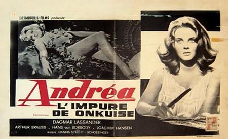 Andrée - l'esasperazione del desiderio nell'amore femminile locandina 4