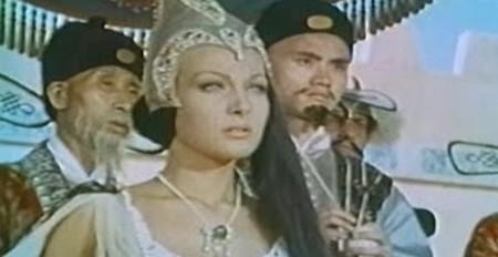 Helene Chanel Maciste alla corte del Gran Khan