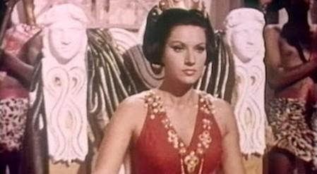 Helga Linè Il trionfo dei dieci gladiatori