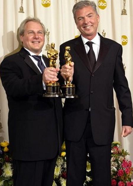 John Myhre e Gordon Sim Oscar