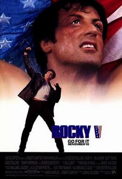 11 Rocky V locandina