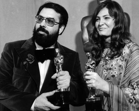 Francis Ford Coppola e Dorothy Puzo