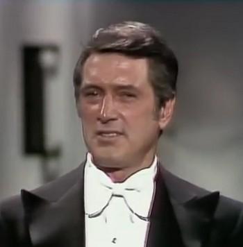 Oscar 1973 presentatore Rock Hudson