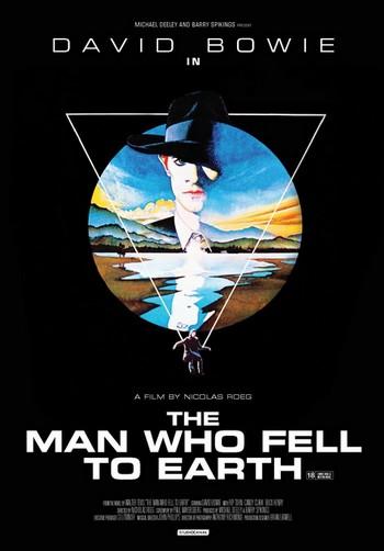 L'uomo che cadde sulla terra locandina 2
