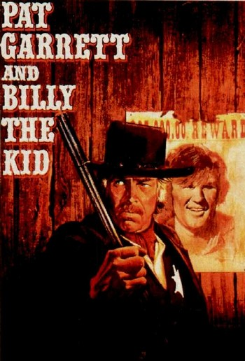 Pat Garrett and Billy Kid locandina 1