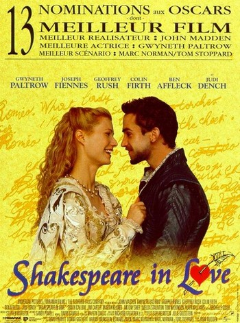 Shakespeare in love locandina 4