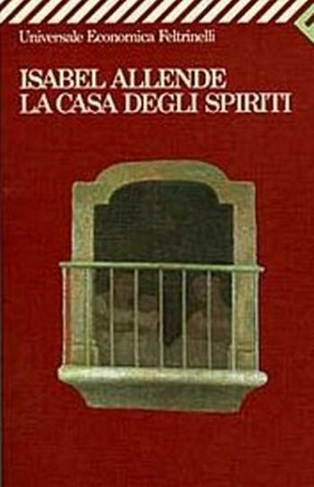 La casa degli spiriti locandina libro