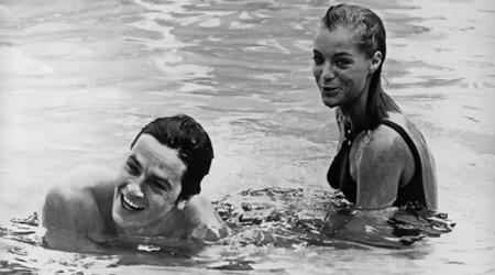 La piscina foto di scena 2