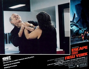 1997 fuga da New York lobby card 7