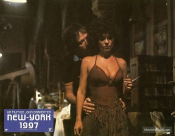 1997 fuga da New York lobby card 9