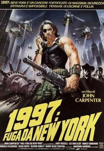 1997 fuga da New York locandina 2