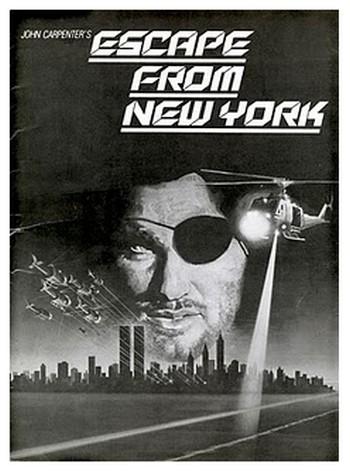 1997 fuga da New York locandina 3