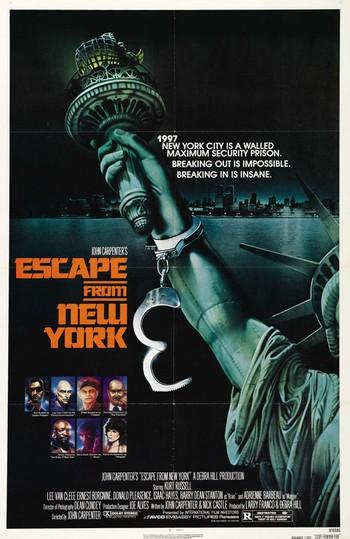 1997 fuga da New York locandina 5