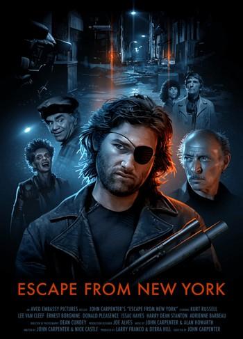 1997 fuga da New York locandina 6