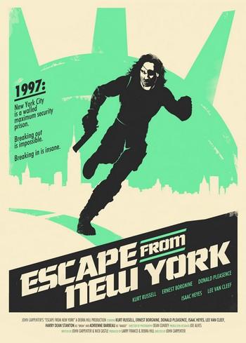 1997 fuga da New York locandina 7