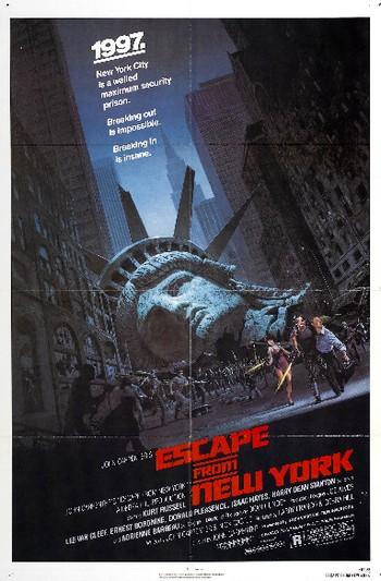 1997 fuga da New York locandina