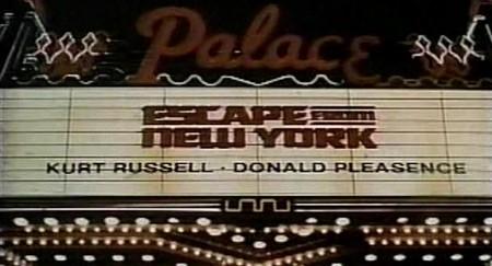 1997 fuga da New York memorabilia 2