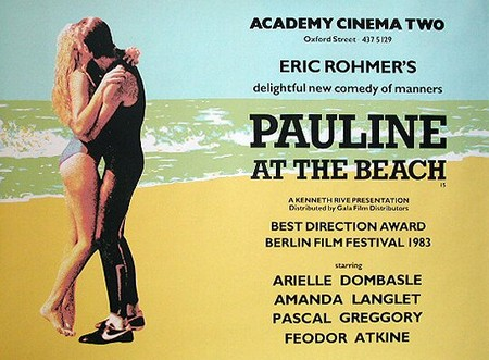 Pauline alla spiaggia lobby card 1