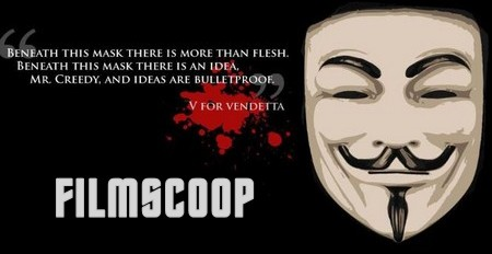V per Vendetta banner filmscoop