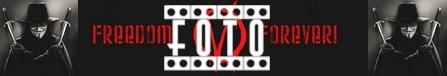 V per Vendetta banner foto