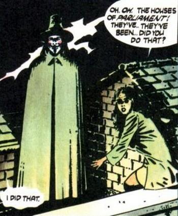 V per Vendetta graphic 2