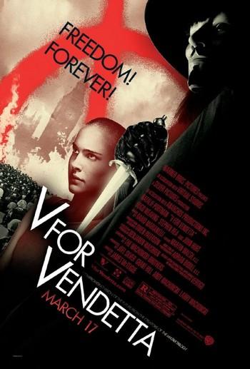V per Vendetta locandina 1
