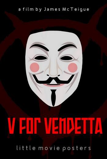 V per Vendetta locandina 10