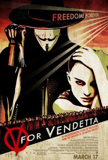 V per Vendetta locandina 2