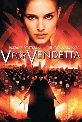 V per Vendetta locandina 3