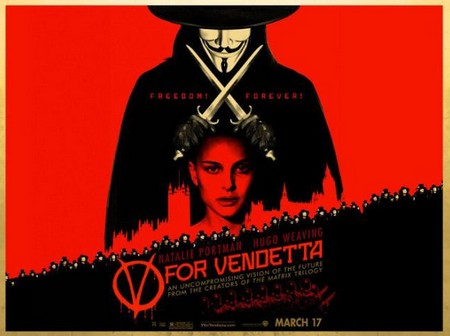 V per Vendetta locandina 4