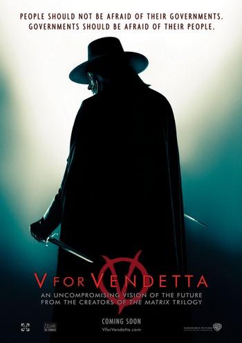 V per Vendetta locandina 6