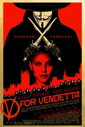 V per Vendetta locandina 7