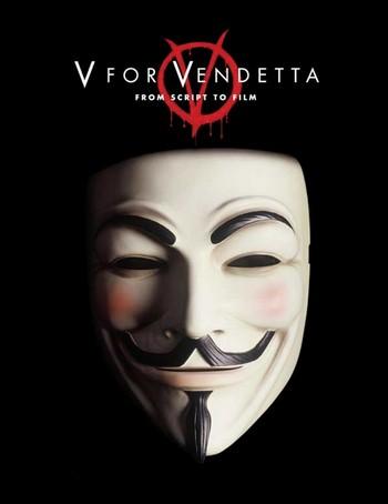 V per Vendetta locandina 8