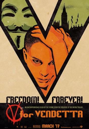 V per Vendetta locandina 9
