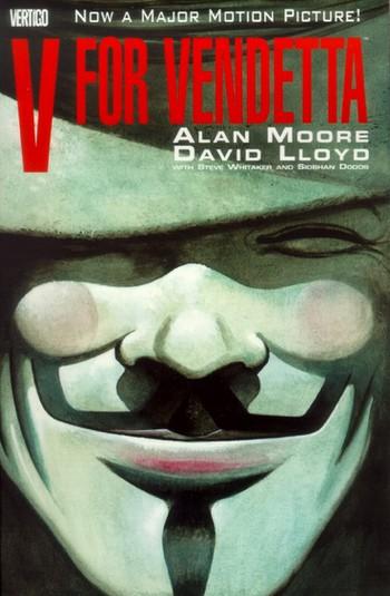 V per Vendetta locandina locandina graphic