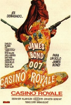 14 James Bond 007 - Casinò Royale locandina