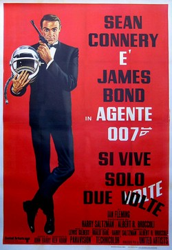 2 Agente 007 - Si vive solo due volte locandina