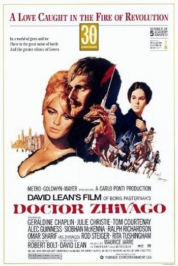 Il dottor Zivago locandina 2